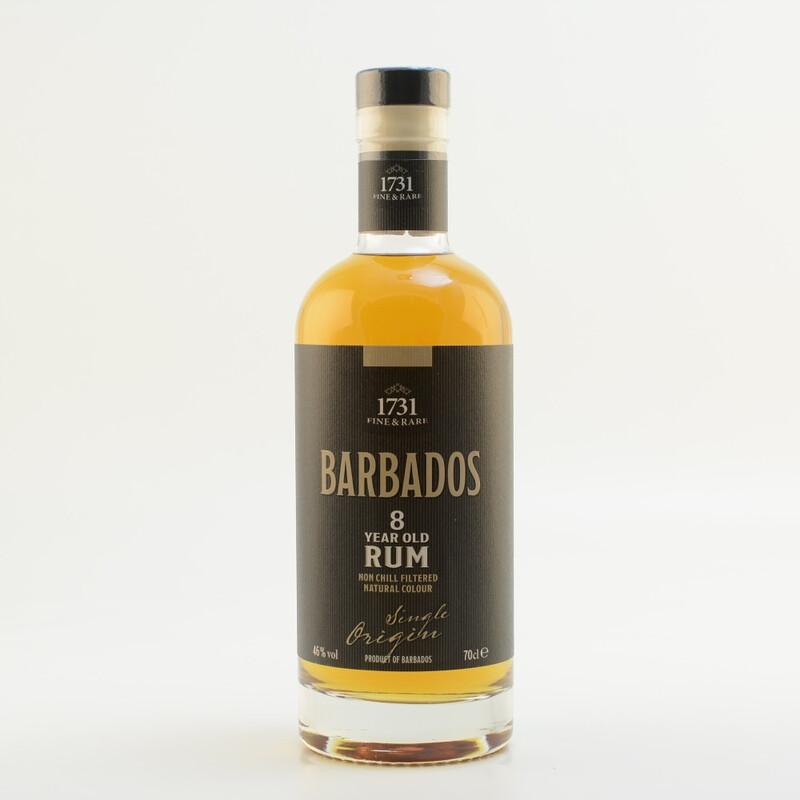 1731 Fine & Rare Barbados 8 Jahre Rum 46% 0,7l