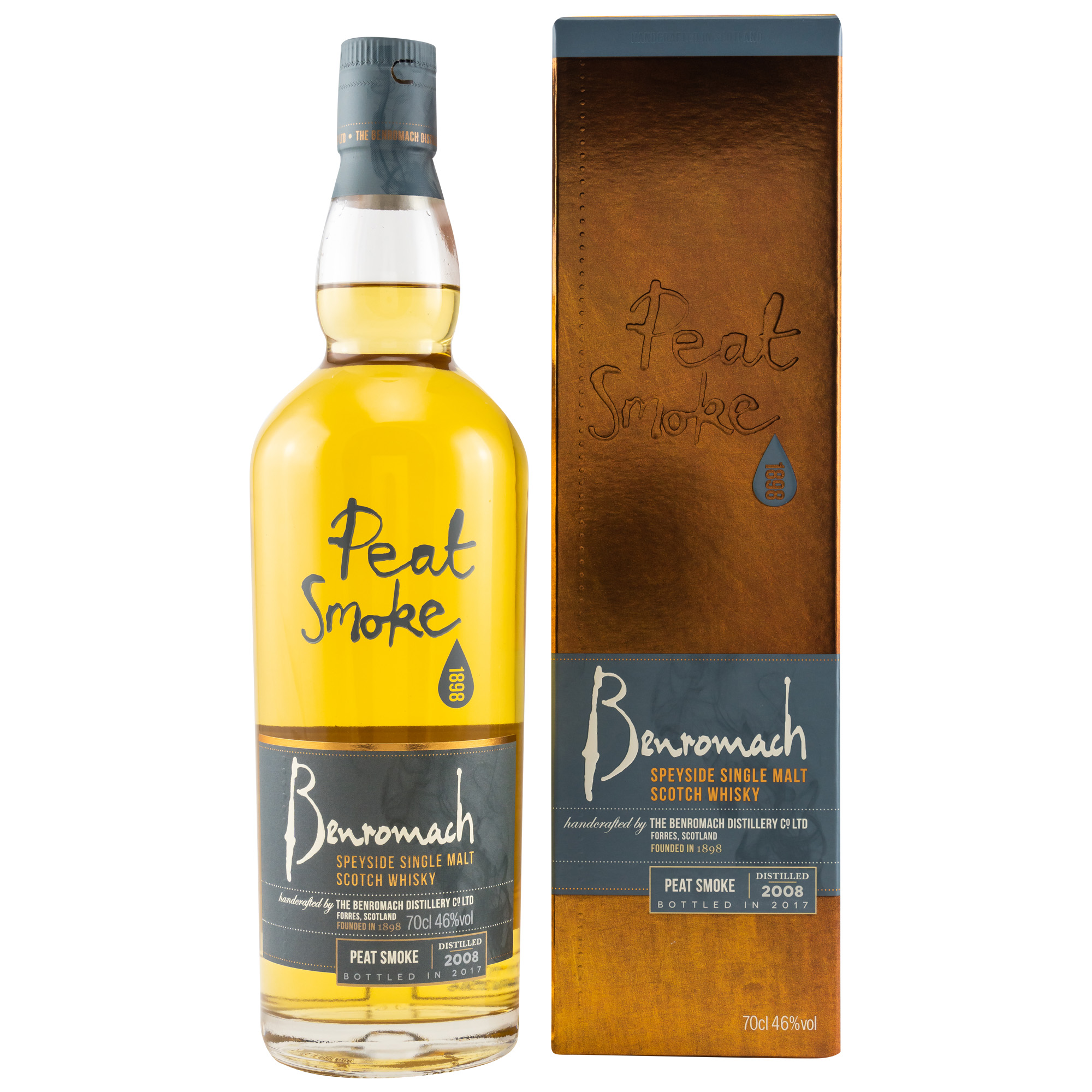 Benromach Peat and Smoke